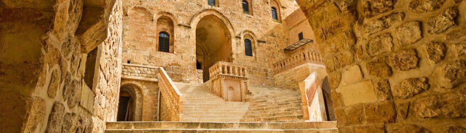 Monastery of Deyrulzafaran in Mardin.