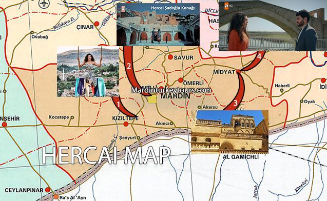 Hercai Series Map